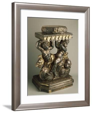 Small Throne--Framed Giclee Print