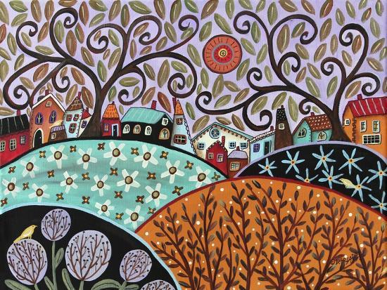 Small Town III-Karla Gerard-Giclee Print