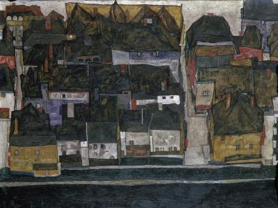 Small Town IV, (Ceský Krumlov on the Vltava River), 1914-Egon Schiele-Giclee Print