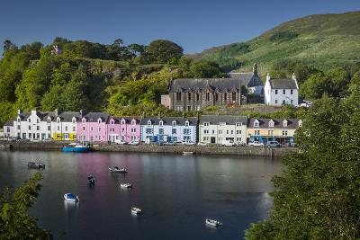 Small Town of Portree on the Isle of Skye, Scotland-Brian Jannsen-Photographic Print