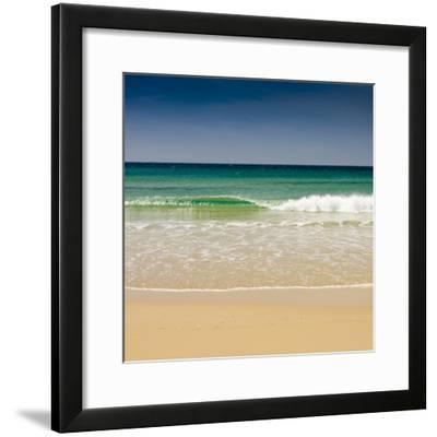 Small Wave, Los Lances Beach, Tarifa, Andalucia, Spain, Europe-Giles Bracher-Framed Photographic Print