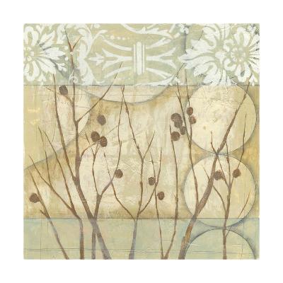 Small Willow and Lace I-Jennifer Goldberger-Art Print