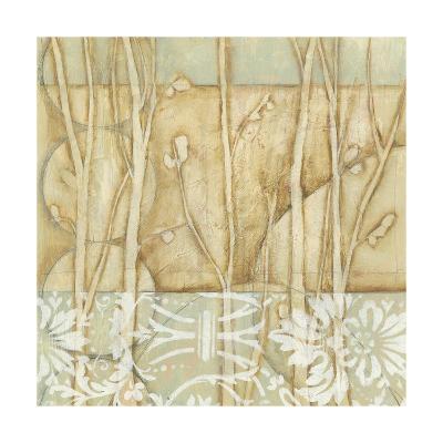 Small Willow and Lace IV-Jennifer Goldberger-Art Print