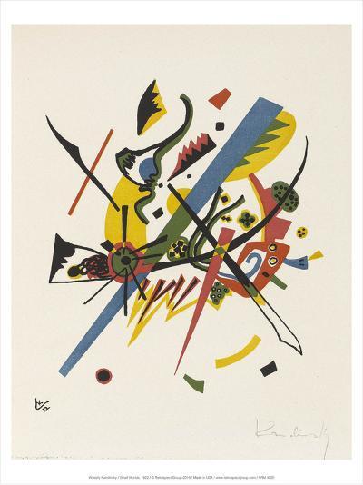 Small Worlds (1922)-Wassily Kandinsky-Art Print