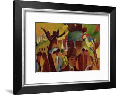 Small Zoological Garden-Franz Marc-Framed Giclee Print