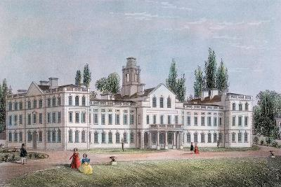 Smallpox Hospital, Highgate, London, C1871--Giclee Print