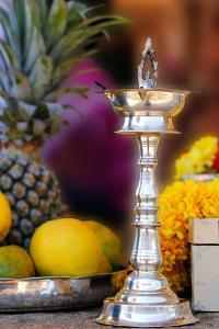 Indian Silver Lamp by smarnad