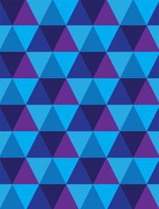 Seamless Of Triangle And Diamond Geometric Shapes by smarnad