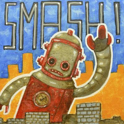 Smash!-Craig Snodgrass-Giclee Print