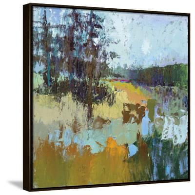 Smell Of Pines-Jane Schmidt-Framed Canvas Print