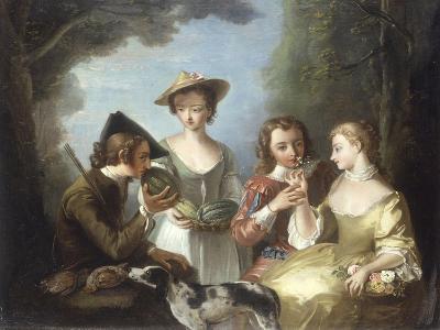 Smell-Philip Mercier-Giclee Print