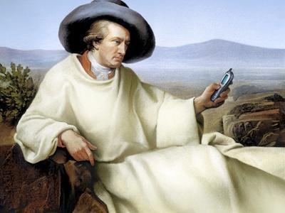 Johann Von Goethe, German Author