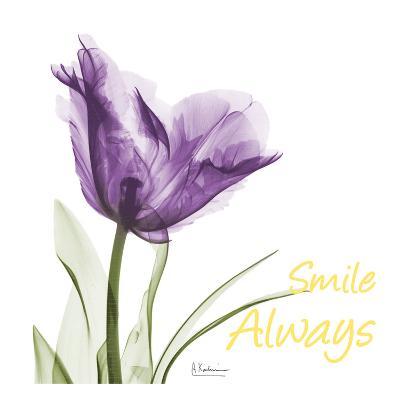 Smile Always Tulip-Albert Koetsier-Art Print