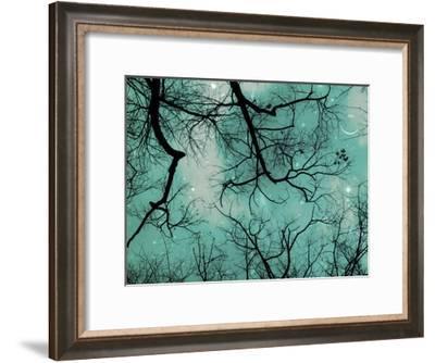 Smile Blue-Tracey Telik-Framed Art Print