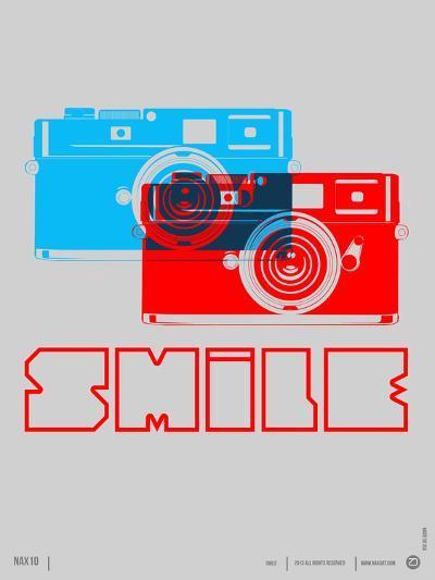 Smile Camera Poster-NaxArt-Art Print