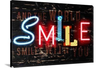 Smile Canvas--Gallery Wrapped Canvas