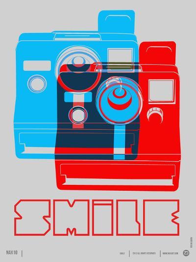 Smile Polaroid Poster-NaxArt-Art Print