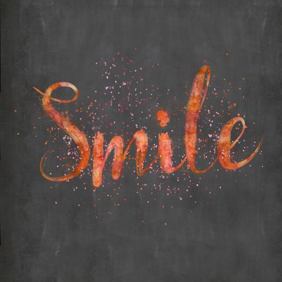 Smile - Square-Lebens Art-Art Print