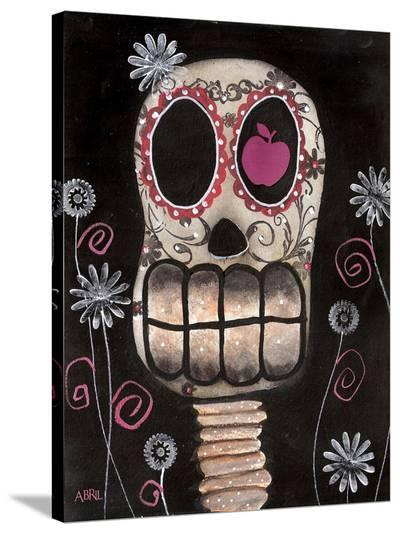 Smile You're Dead-Abril Andrade-Stretched Canvas Print
