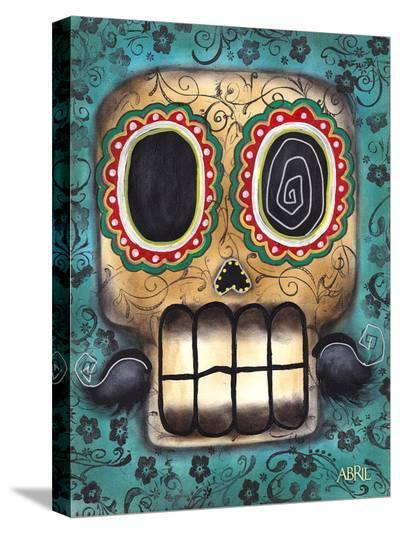Smile-Abril Andrade-Stretched Canvas Print