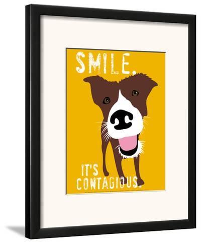 Smile-Ginger Oliphant-Framed Art Print