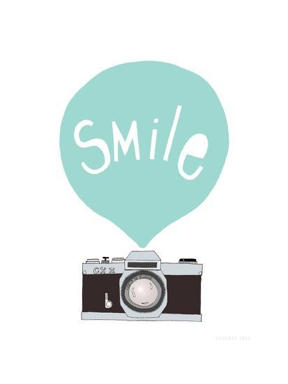 Smile-Seventy Tree-Giclee Print