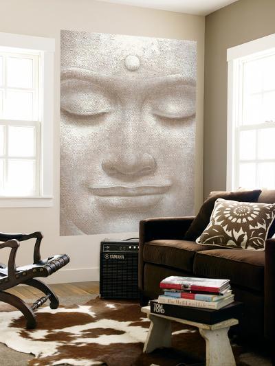 Smiling Buddha Mural--Wallpaper Mural