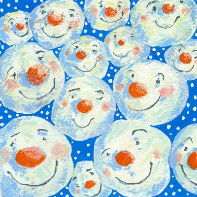 Smiling Snowballs, 2011-David Cooke-Giclee Print