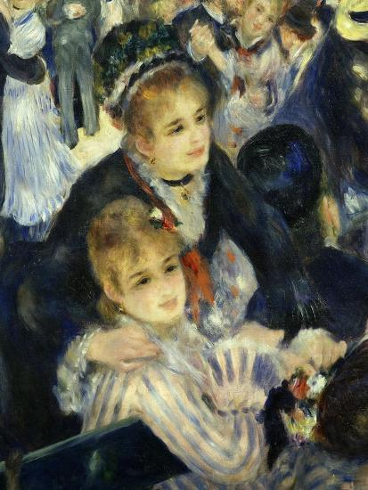Smiling Women, from Bal Du Moulin De La Galette, Dance at Moulin De La Galette, Paris, 1876, Detail-Pierre-Auguste Renoir-Giclee Print