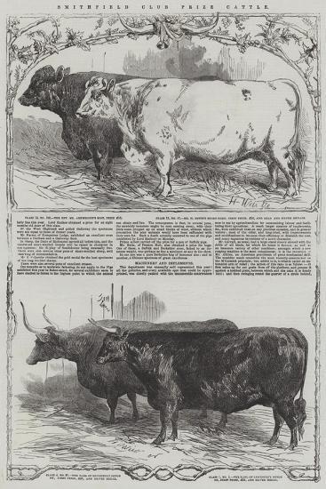 Smithfield Club Prize Cattle-Harrison William Weir-Giclee Print