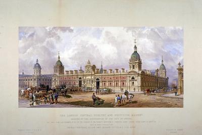 Smithfield Market, City of London, 1875-CF Kell-Giclee Print