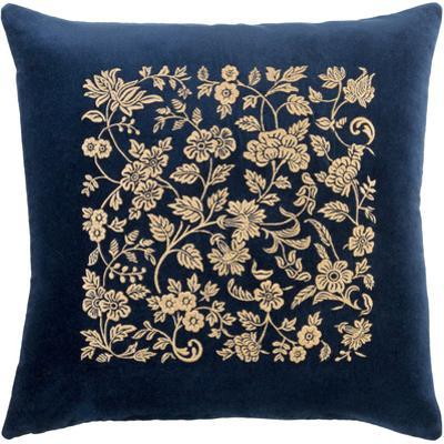 Smithsonian Down Fill Throw Pillow - Navy