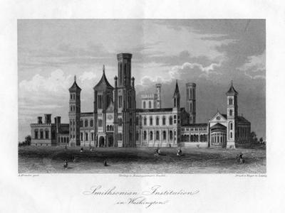 Smithsonian Institution in Washington by A Krausse