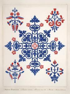 Smithsonian Libraries: Augustus Welby Northmore Pugin; Floriated Ornament