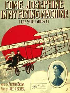Smithsonian Libraries: Come, Josephine, in my Flying Machine (Up she Goes!)