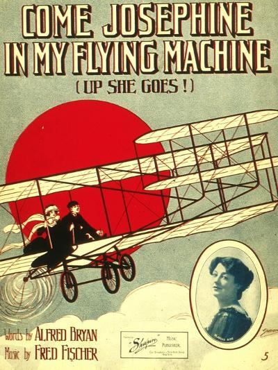 Smithsonian Libraries: Come, Josephine, in my Flying Machine (Up she Goes!)--Art Print