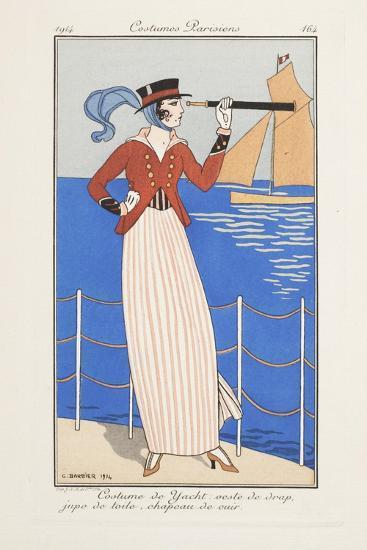 Smithsonian Libraries: Costumes Parisiens by Georges Barbier--Art Print