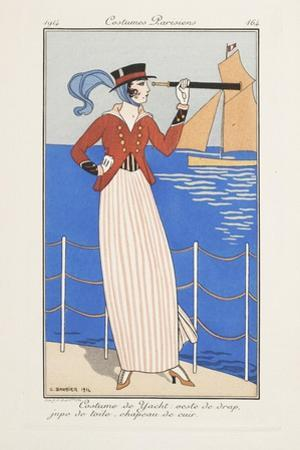 Smithsonian Libraries: Costumes Parisiens by Georges Barbier