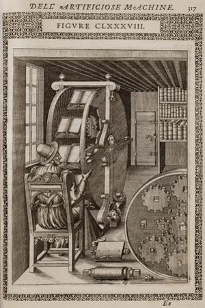 Smithsonian Libraries: Figure CLXXXVIII. Le diverse et artificiose machine by Agostino Ramelli