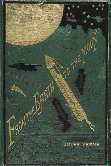 Smithsonian Libraries: Jules Verne Cover--Premium Giclee Print