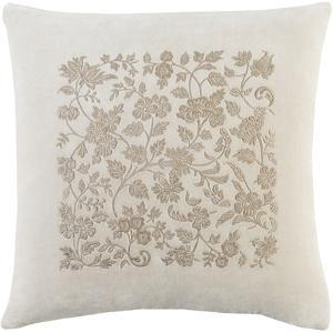 Smithsonian Pillow Cover - Cream