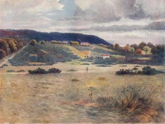 'Smithwood Common', 1911, (1914)-James S Ogilvy-Giclee Print
