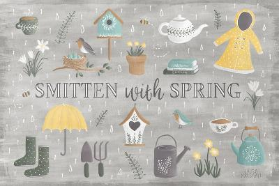 Smitten With Spring III-Laura Marshall-Art Print