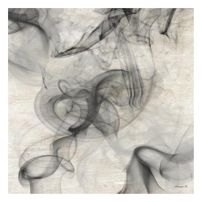 Smoke A-Alonza Saunders-Art Print