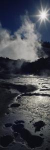 Smoke Emitting from a Volcano, Lassen Volcanic National Park, California, USA