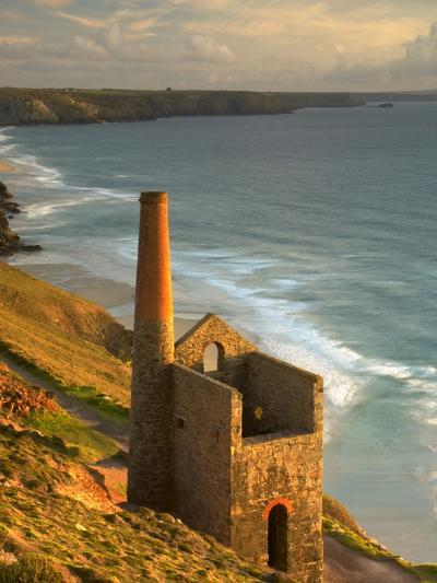 Smokestack in St. Agnes-Lee Pengelly-Photographic Print