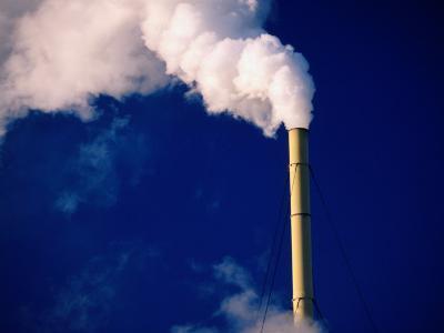 Smokestack, Melbourne, Australia-Peter Hendrie-Photographic Print