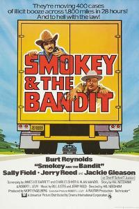 Smokey and the Bandit, Burt Reynolds (top), Jackie Gleason, 1977