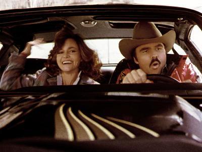 Smokey And The Bandit, Sally Field, Burt Reynolds, 1977--Photo