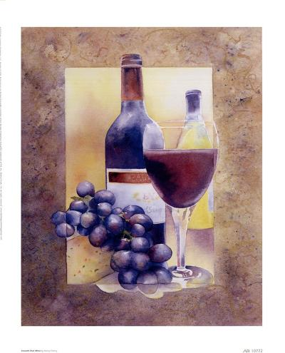 Smooth Red Wine-Nancy Cheng-Art Print